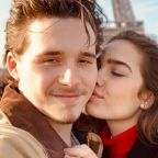 Brooklyn Beckham declares himself the 'luckiest man in the world' as he spends first Valentine's Day with Hana Cross