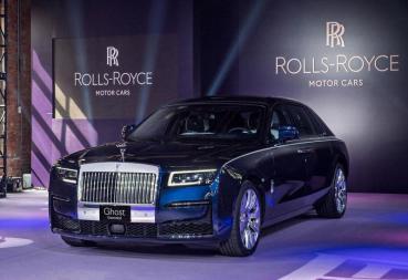 【新車登場】新塑魅影!Rolls-Royce Ghost