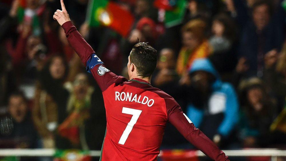 Así reacciona Ronaldo tras brillar con Portugal
