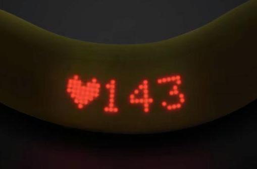 Wearable banana shows your heart rate and is still edible (sort of)