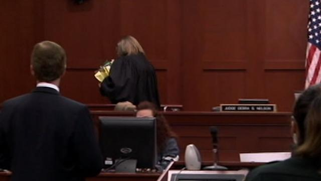 Zimmerman Judge Walks Out on Squabbling Lawyers