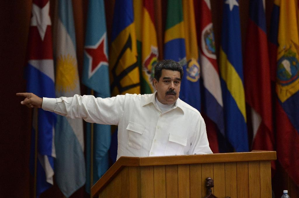 "Venezuela President Nicolas Maduro says he wants ""solutions"" and ""no more whining"""