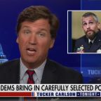 Tucker Scoffs at D.C. Cop Scarred by Capitol Riot From Safety of His Studio