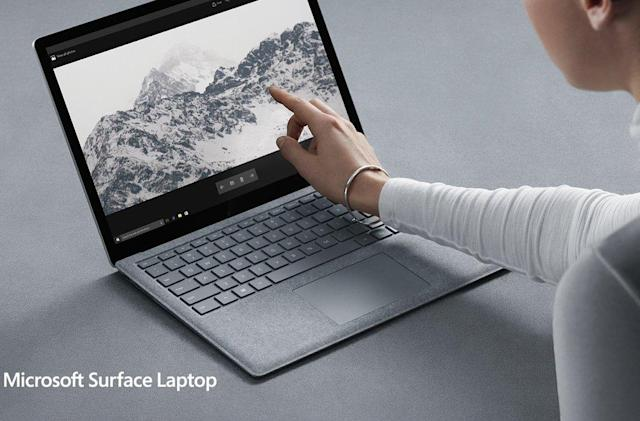 Microsoft's Surface Laptop is built to beat Apple's MacBooks
