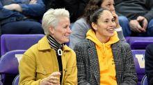 WNBA player Sue Bird says Trump's attacks on girlfriend Megan Rapinoe 'cannot shake' the soccer star