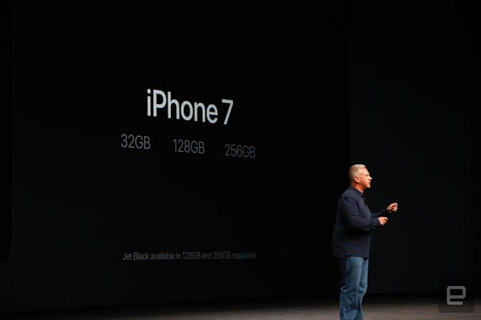 Apple kills off 16GB storage for the iPhone 7