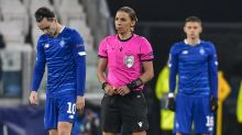 Stephanie Frappart becomes first female to referee men's Champions League clash