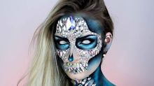 You only need $45 and two days to complete this Halloween makeup look