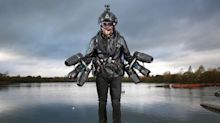 Real-Life Iron Man Sets Record For Fastest Time In Jet Suit