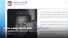 'My heart and soul have been shattered': Eddie Van Halen mourned by widow Janie, David Lee Roth