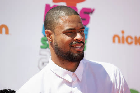 4457209408ed FILE PHOTO  NBA basketball player Tyson Chandler poses at the 2014  Nickelodeon Kids  39