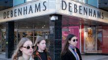 Debenhams website overwhelmed as shoppers swoop on sales