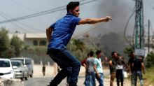 Clashes at protests to support Palestinian hunger strikers