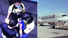 Parents of newborn dumped in Qatar airport bin identified