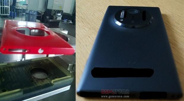 Flood of leaked images suggest Nokia EOS smartphone with huge PureView camera