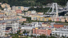Cars plunge as motorway bridge collapses in Italy; 30 killed