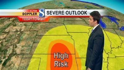 Video-Cast: More Storm Chances Today