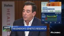 Regeneron CEO: Our genetics research is in the 'precompet...
