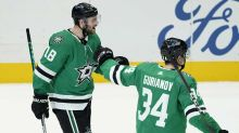 Stars keep hot start going with 2-1 OT win over Red Wings