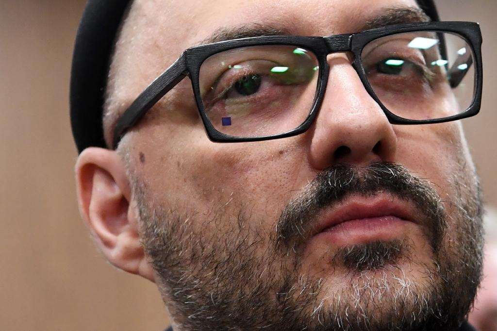 Serebrennikov, the enfant terrible of Russian theatre, cinema and ballet, has been shuttered in his apartment for two years, accused of embezzlement in what his followers consider politically motivated charges (AFP Photo/Kirill KUDRYAVTSEV)