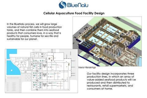 BlueNalu Announces First-of-its-Kind Commercialization Strategy and Facility Designs for Large-Scale Production of Cell-Based Seafood