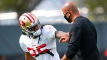 Richard Sherman gives 49ers an injury scare, then gives Jimmy Garoppolo a pick six