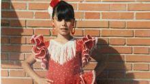 Pilar Rubio: una niña flamenca en plena Navidad