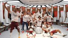 Behind the scenes as Arsenal celebrate their Community Shield win at Wembley