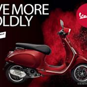 Vespa 2020年式「Sprint」勇士紅新色亮相