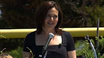 Sheryl Sandberg Gives Graduates Advice