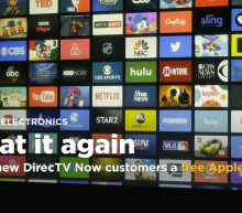 AT&T offers new DirecTV Now customers a free Apple TV, again