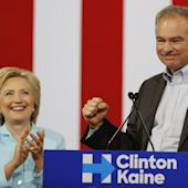 Hillary Clinton Introduces Tim Kaine as Her Running Mate at Florida Rally