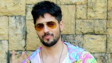 Yay or nay: Sidharth Malhotra sports a trippy jacket for 'Jabariya Jodi' promotions