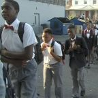 It's back to school for some students in Philadelphia today