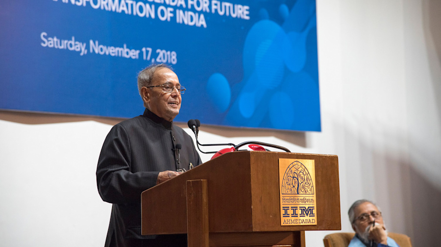 Are IITs About Plush Jobs or Research? Asks Pranab Mukherjee