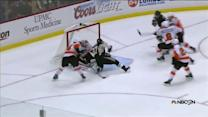 Emery denies Crosby twice as period concludes