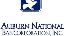 Auburn National Bancorporation, Inc. Declares Quarterly Dividend