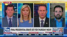 'Fox & Friends' Hosts Remain Quiet as Guest Mocks Biden's Stutter