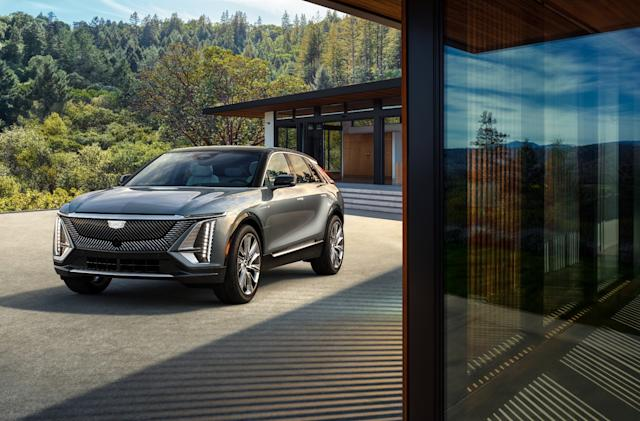 Cadillac's Lyriq EV will boast 300-plus miles of range
