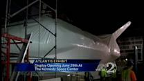 Space Shuttle Atlantis new home to open early