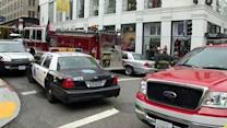 Suspects sought after explosion in downtown SF