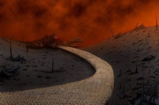 Eternal Darkness concept art shows endings that could have been