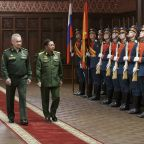 Myanmar's junta leader attends military conference in Moscow