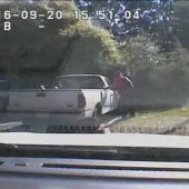 Charlotte Police: Keith Lamont Scott Shooting Police Dash Cam Video
