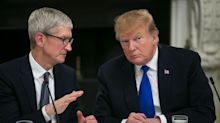 Trump Says 'Looking' at Exemption for Apple on China Tariffs