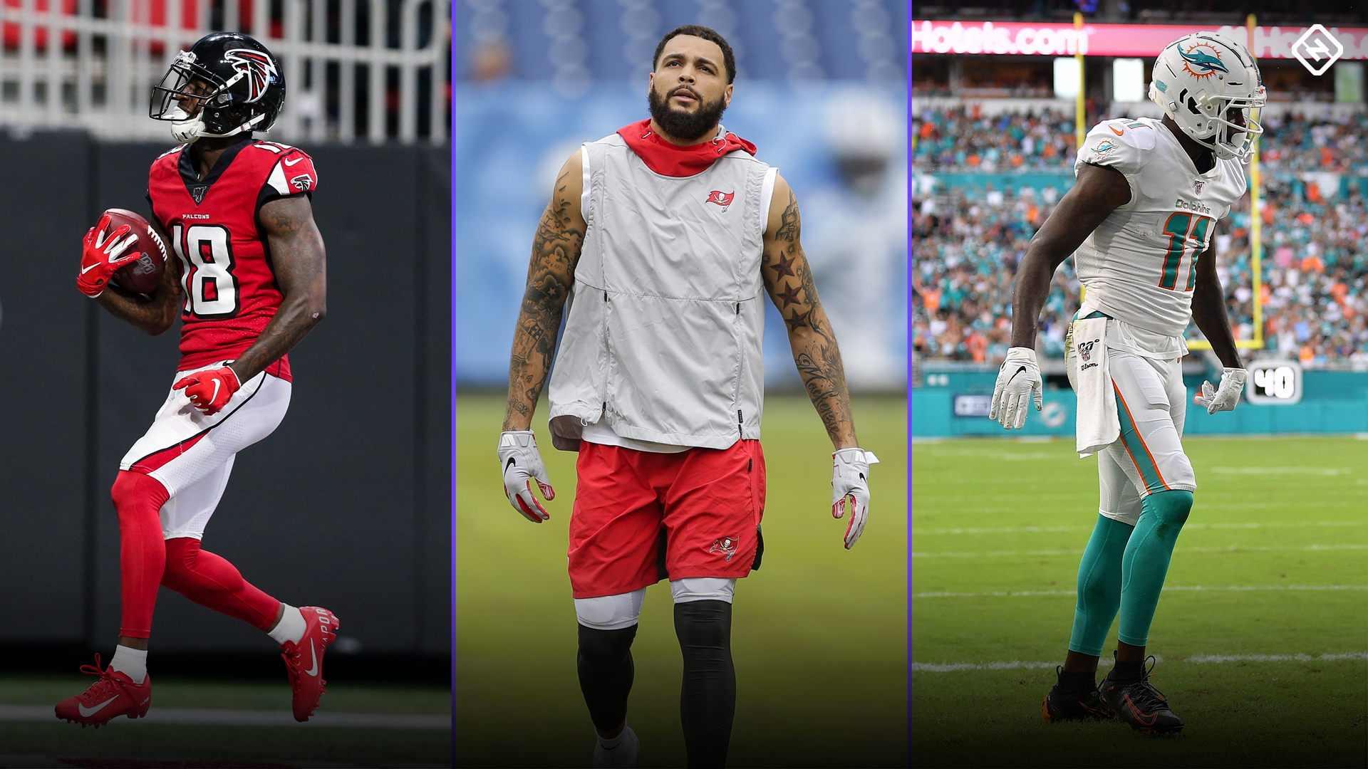 Fantasy Injury Updates Calvin Ridley Mike Evans Devante Parker Dj Chark Affect Week 15 Waiver Wire Pickups
