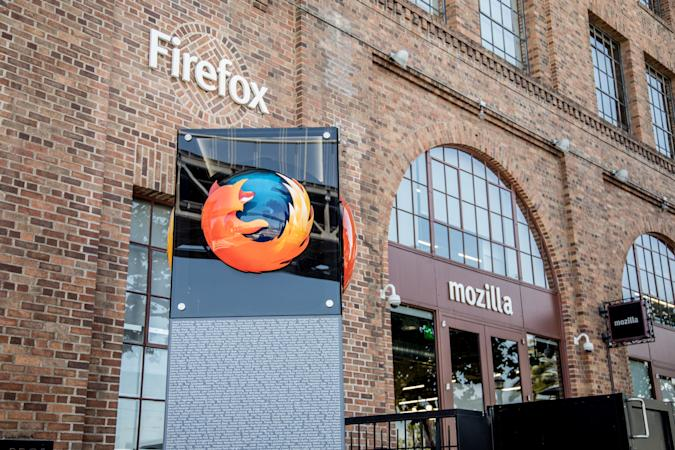 San Francisco, California, USA - June 6, 2017: Outside the Mozilla headquarters, the plucky creator of the Firefox browser. Firefox is a free and open-source web browser developed by the Mozilla Foundation and its subsidiary the Mozilla Corporation