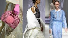米蘭時裝周|Fendi 2021春夏時裝騷棉被桌布變時裝 新款手袋小配飾吸睛