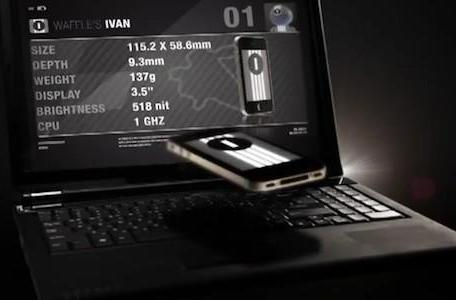 LG Optimus Black vs. iPhone 4, others in stop-motion video