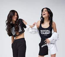 Charli and Dixie D'Amelio and Hollister Co. Launch New Fashion Brand, Social Tourist